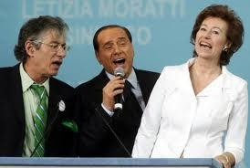 Bossi Berlusconi Moratti