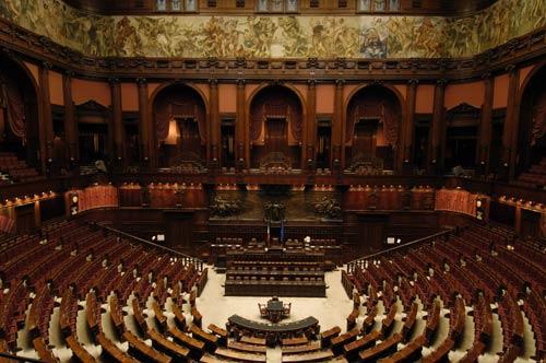 Gioielleria montecitorio senza le riforme monti la for Oggi in parlamento